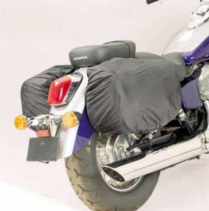 Obrázek Moto pláštěnka pro kožené brašny na motorku