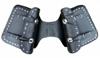 Obrázek z DIABLO MOTO kožené brašny na motorku Chopper - 2x14 cvokované