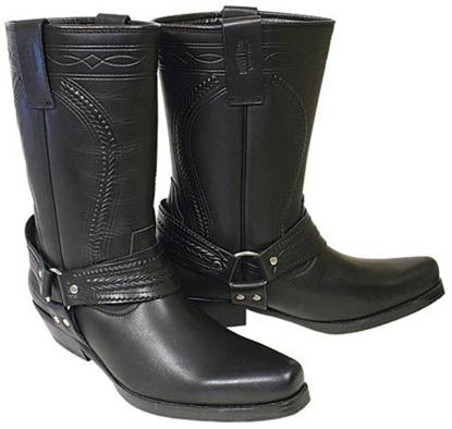 Obrázek  Koně Johnny Bulls  K 063  kožené boty na motorku