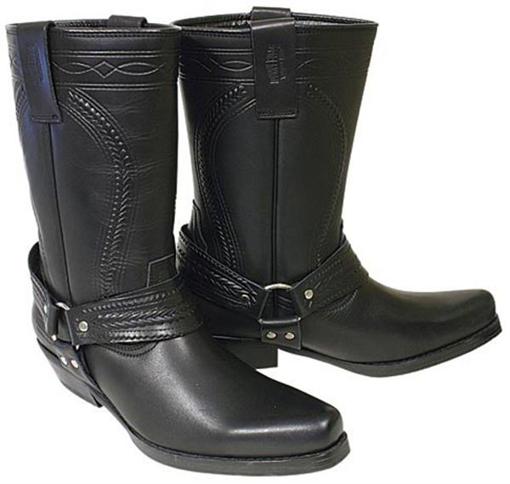 Obrázek z  Koně Johnny Bulls  K 063  kožené boty na motorku