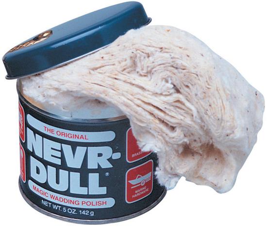 Obrázek z Nevr Dull Leštící a čistící vata na kovy