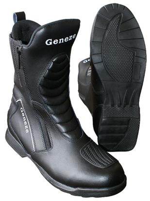 Obrázek GENEZE  K 390  cestovní kožené boty na motorku