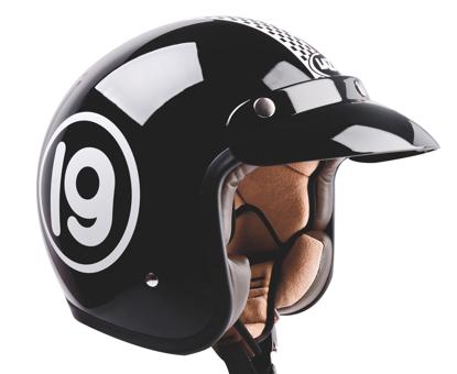 Obrázek LAZER  MAMBO Le Mans otevřená helma na moto