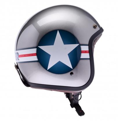 Obrázek LAZER  MAMBO Navy otevřená helma na moto