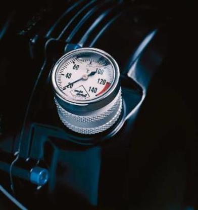 Obrázek Moto Detail Analogový teploměr oleje