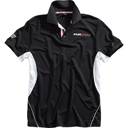 Obrázek  FLM  Sportovní tričko s krátkým rukávem a límečkem