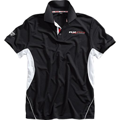 Obrázek z  FLM  Sportovní tričko s krátkým rukávem a límečkem