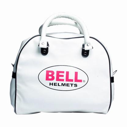Obrázek BELL - RT kožená  taška bílá