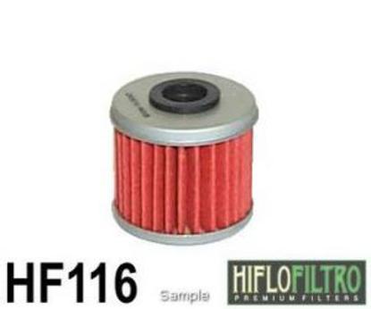 Obrázek HIFLO FILTRO Olejový filtr HF116 HF 116