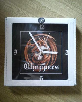 Obrázek Nástěnné hodiny CHOPPERS