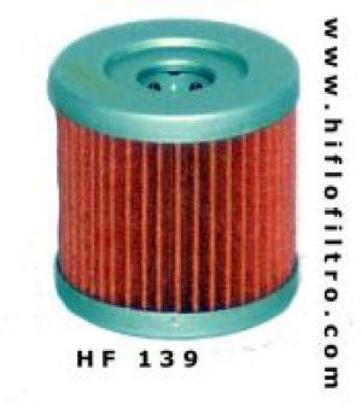 Obrázek HIFLO FILTRO Olejový filtr HF139 HF 139