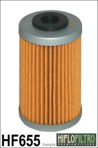 Obrázek z HIFLO FILTRO Olejový filtr HF655  HF 655
