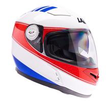 Obrázek z LAZER  BAYAMO Cup helma na moto Barva : Bílo - Červeno - Modrá