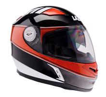 Obrázek z LAZER  BAYAMO Cup helma na moto Barva : Černo - Oranžovo - Bílá
