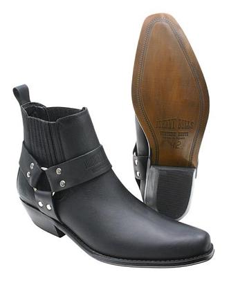 Obrázek Koně Johnny Bulls  K 074 kožené boty nízké na motorku