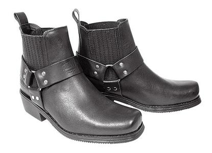 Obrázek Koně Johnny Bulls K 076 westernová kožená obuv na moto