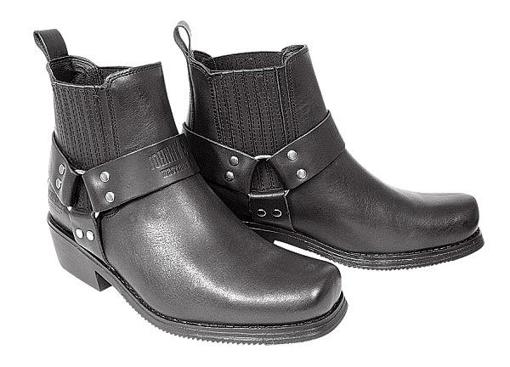 Obrázek z Koně Johnny Bulls K 076 westernová kožená obuv na moto