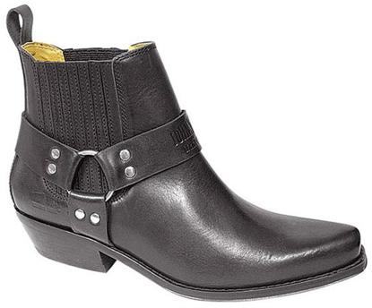 Obrázek Koně Johnny Bulls  K 086 westernové kožené boty nízké na motorku