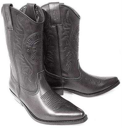 Obrázek Koně Johnny Bulls  K 091 Westernová vysoká obuv