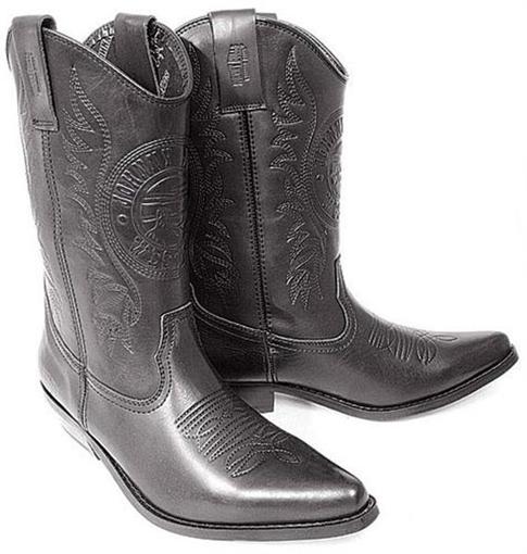 Obrázek z Koně Johnny Bulls  K 091 Westernová vysoká obuv
