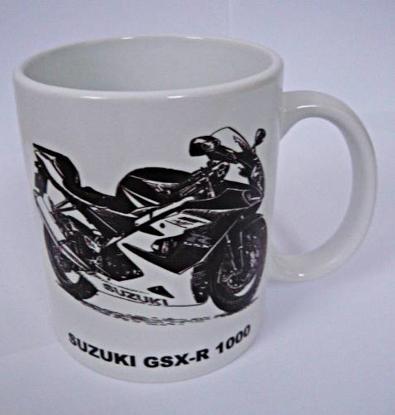 Obrázek HRNEK s motorkářským motivem - různé druhy