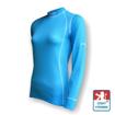 Obrázek z Dámské triko dlouhý rukáv sv.modrá/bílá Smart Ag