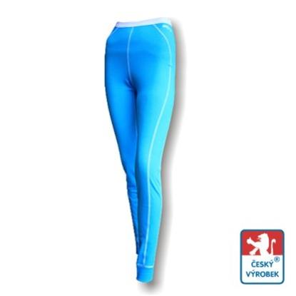 Obrázek Dámské spodky dlouhé sv.modrá/bílá Smart Ag
