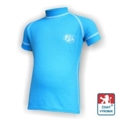 Obrázek Dětské triko krátký rukáv sv.modrá/bílá Smart Ag