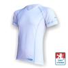 """Obrázek z Pánské triko krátký rukáv """"V"""" bílá/šedá Silver Tech"""