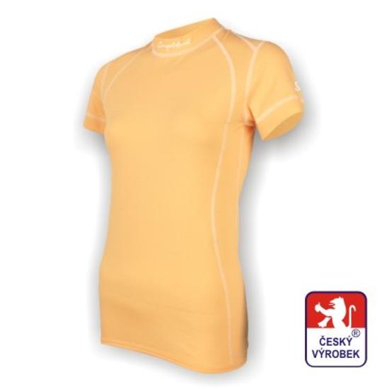 Obrázek z Dámské triko krátký rukáv béžová SilverTech