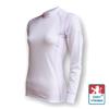 Obrázek z Dámské triko dlouhý rukáv bílá/fialová SilverTech