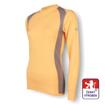 Obrázek z Dámské triko dlouhý rukáv béžová/šedá SilverTech