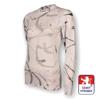Obrázek z Dámské triko dlouhý rukáv potisk bílá SilverTech