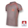 Obrázek z Dětské triko krátký rukáv šedá/oranžová SilverTech