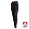 Obrázek z Dámské spodky dlouhé černá/modrá BambooLight