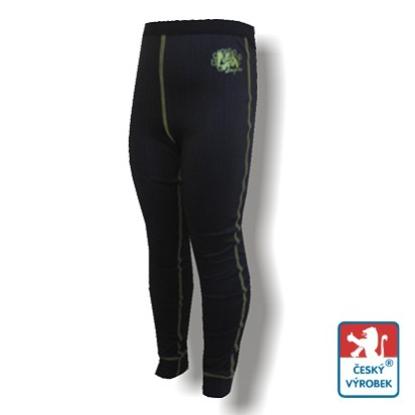 Obrázek Dětské spodky černá/zelená BambooLight