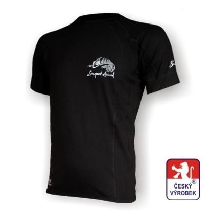 Obrázek Pánské triko krátký rukáv černá BambooHeavy