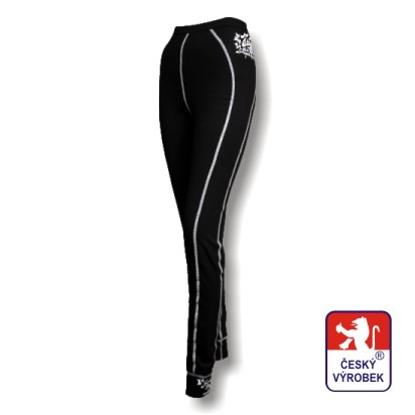 Obrázek Dámské spodky dlouhé černá/bílá BambooHeavy