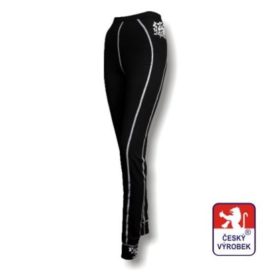 Obrázek z Dámské spodky dlouhé černá/bílá BambooHeavy