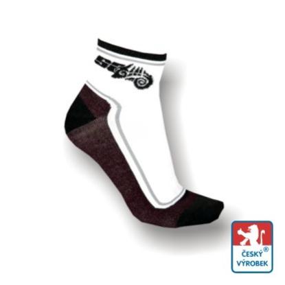 Obrázek Ponožky SA bílá/černá
