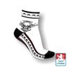 Obrázek z Ponožky moto SA bílá/černá