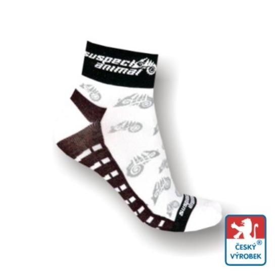Obrázek z Ponožky suspect animal bílá/šedá/černá