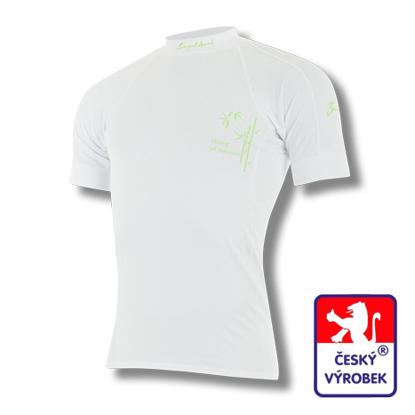 Obrázek Pánské triko krátký rukáv bílá BambooLight