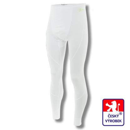 Obrázek Pánské spodky dlouhé bílá BambooLight