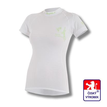 Obrázek Dámské triko krátký rukáv bílá BambooLight