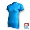 Obrázek z Dámské triko krátký rukáv sv.modrá/bílá Smart Ag