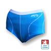 Obrázek z Dámské kalhotky s nohavičkou sv.modrá/bílá Smart Ag