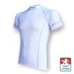 Obrázek z Pánské triko krátký rukáv bílá/šedá Silver Tech