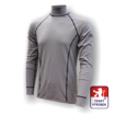 Obrázek z Pánské triko dlouhý rukáv-stoják šedá Silver Tech