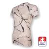 Obrázek z Dámské triko krátký rukáv potisk bílá SilverTech